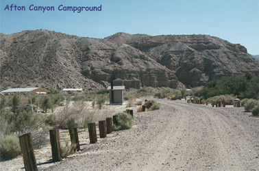 afton canyon campground picture