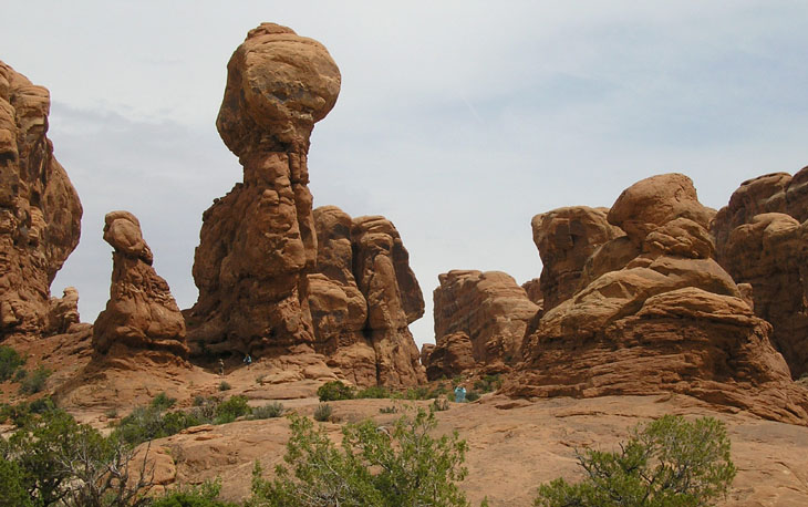 arches rock spires picture