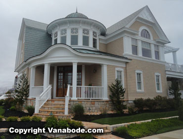 atlantic city new jersey architecture along the ocean