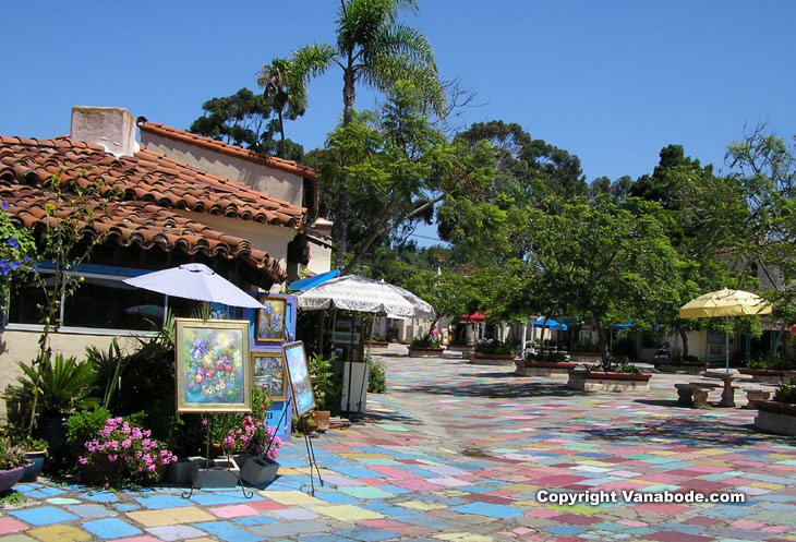 balboa park art colony picture