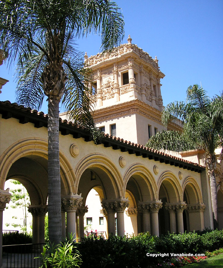 architecture seen throughout balboa park picture