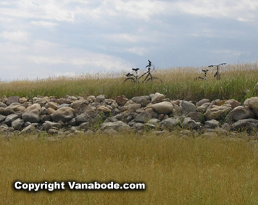 picture of bikes in grass in south dakota