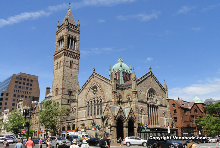 picture of old south church in the back bay district of boston