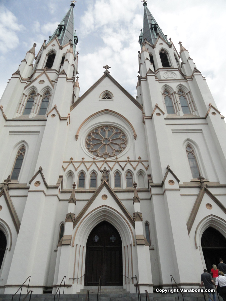 st john the baptist cathedral picture in savannah georgia