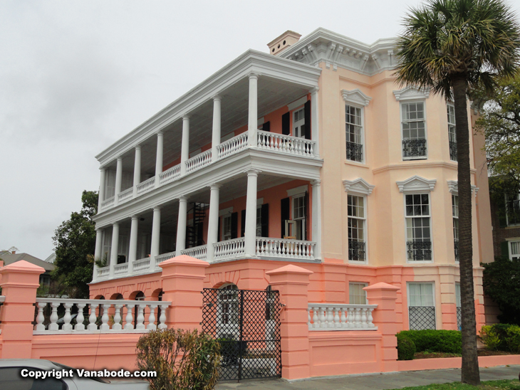 Charleston South Carolina  plantations and rich folks mansions