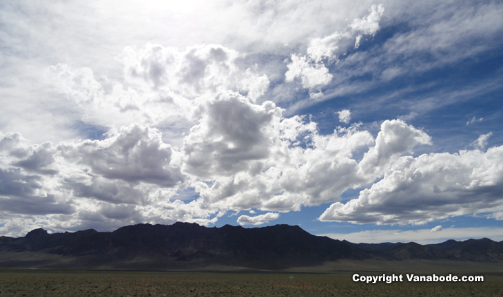 nevada desert sky picture