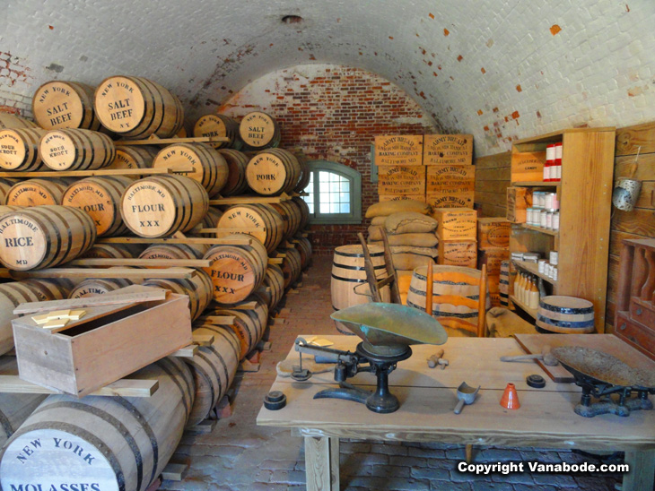 fort macon keg storage depot