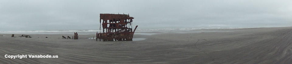 fort stevens peter iredale ship wreck picture