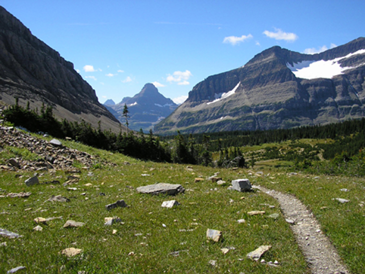 Picture of Siyeh trail at Glacier National Park