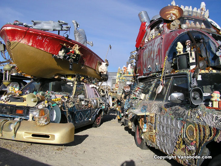 car art picture taken in goldfield nevada