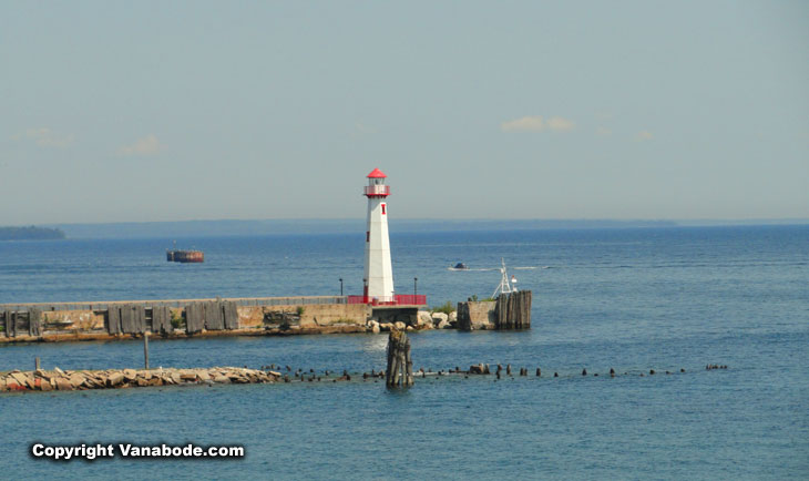lighthouse mackinaw city area michigan