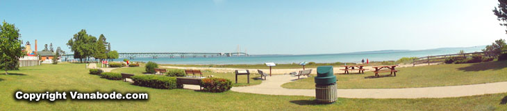 mackinaw 5 mile bridge and park