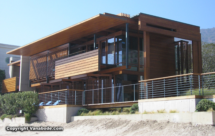 malibu beach house 50 feet from the ocean picture