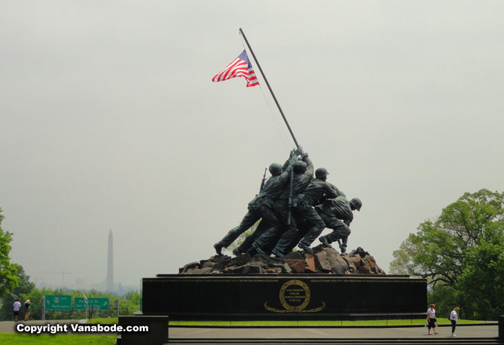 marines memorial in washington dc on vacation