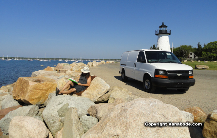 ned's lighthouse picture in mattapoisett massachusetts