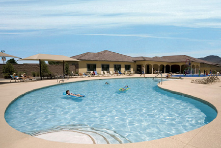 Mountain Falls Pahrump Nevada pool picture