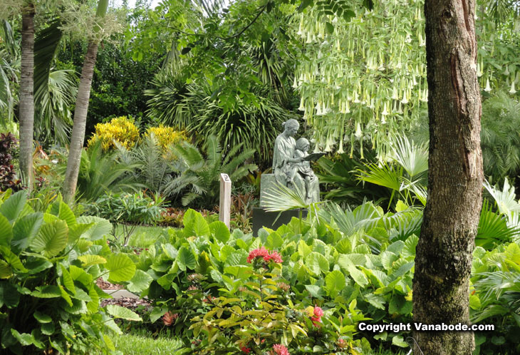 picture taken at mounts botanical garden in west palm beach florida