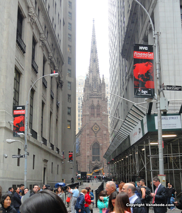 nyc church and new construction