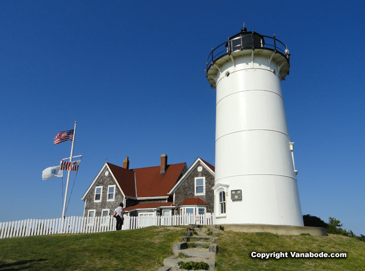 picture of nobska lighthouse woods hole maine