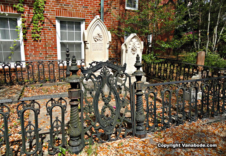 incredible ancient ironwork burying ground