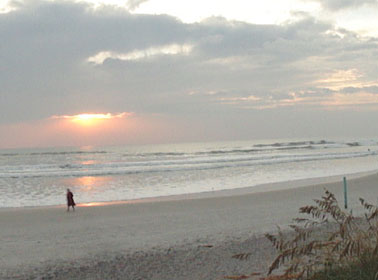 sunrise on ormond beach picture