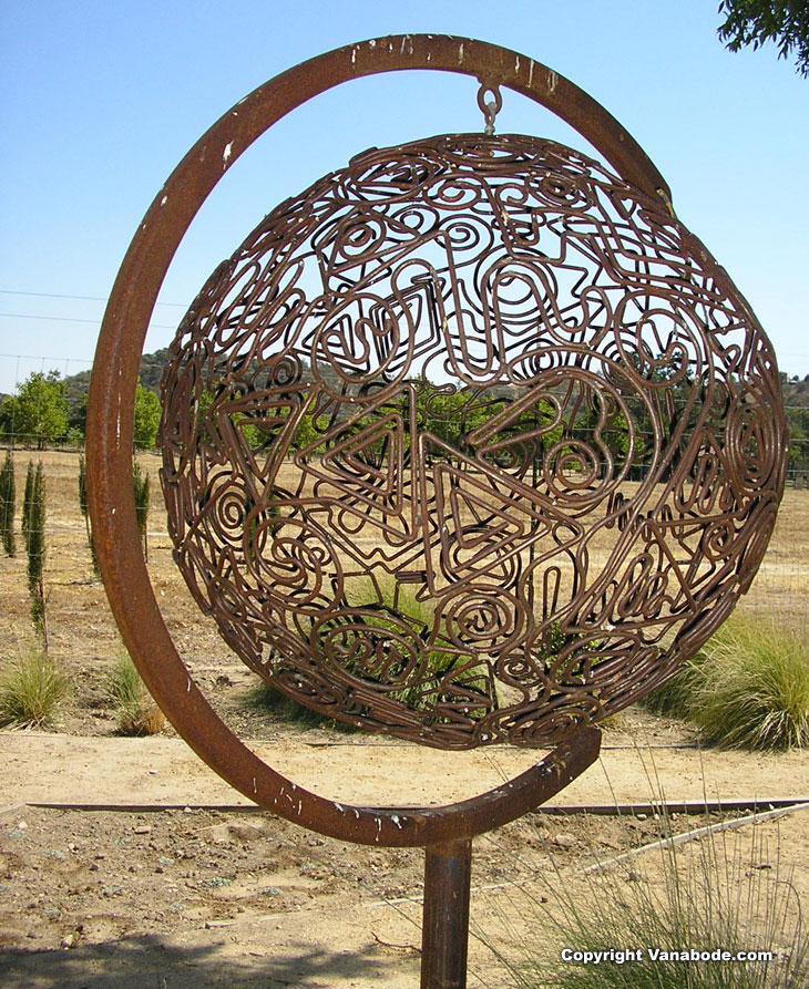 Sculpture in Paso Robles California picture