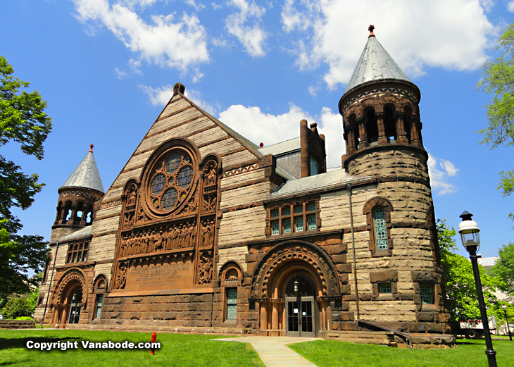 princeton university on cheap road trip