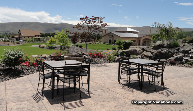 overlooking vintner's village in prosser washington picture