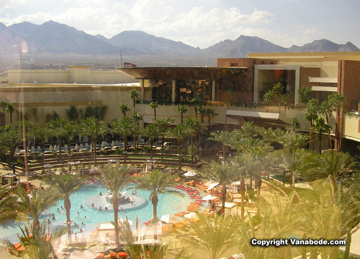Red Rock Casino Resort, owned by Station Casinos, is an off-strip locals casino on 70 acres in Summerlin.
