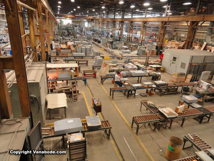 rock of ages manufacturing plant in vermont