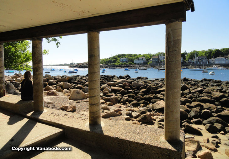 rockport inland marina and waterfront homes