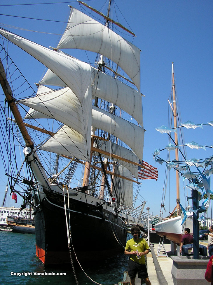 Picture of San Diego's Star of Indian historic ship