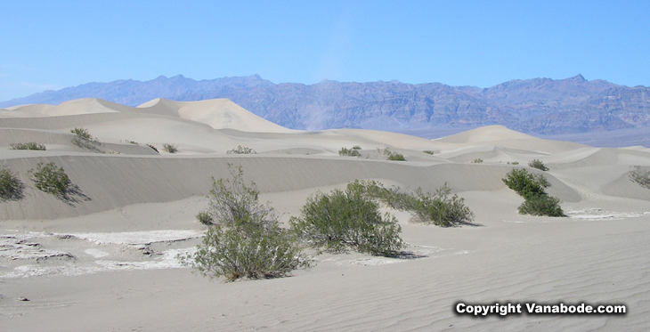 death valley sand dunes picture