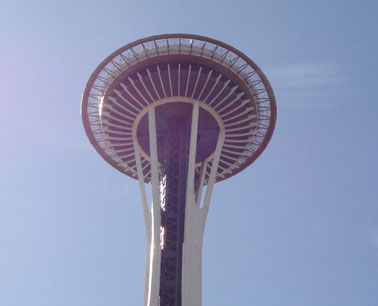 picture of space needle in seattle washington