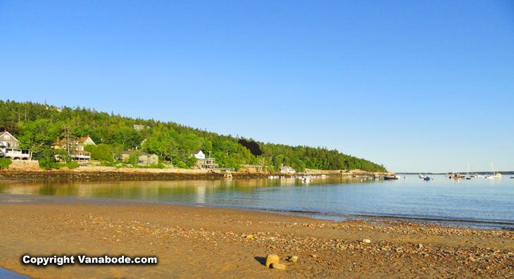 marinas and beaches near acadia national park