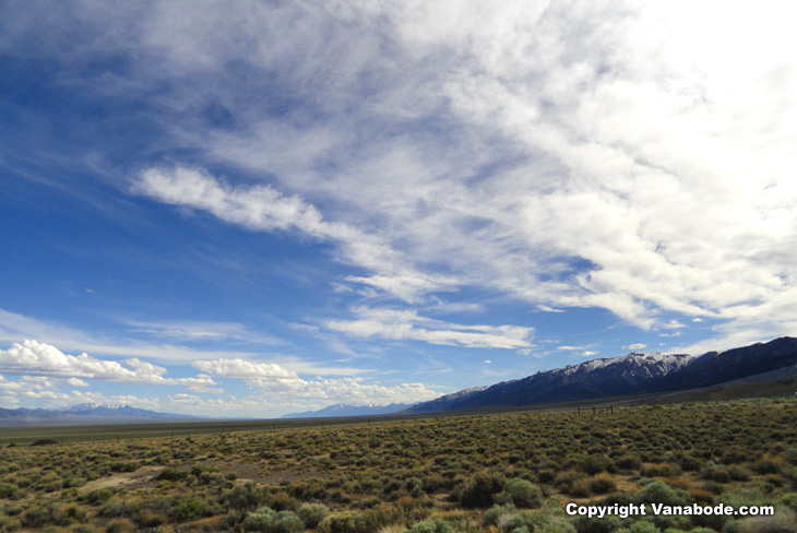 nevada desert mountatins picture vanabode here for free forever