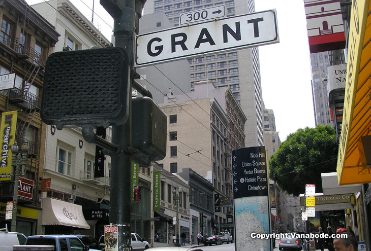 San Francisco street directory picture