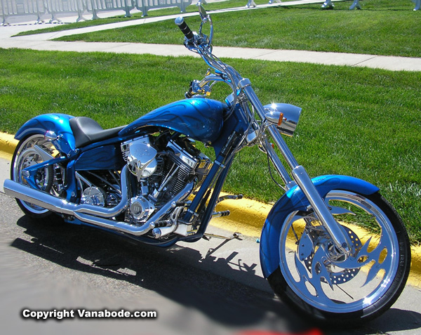 sturgis flame blue cycle picture