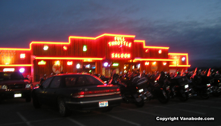 Picture of Full Throtle Saloon in Sturgis