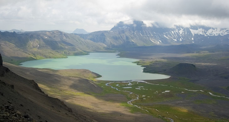 picture of Surprise Lake in Aniakchak National Preserve Alaska