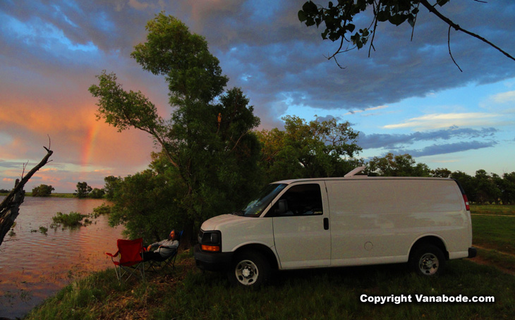 walgren lake in nebraska camping lakefront