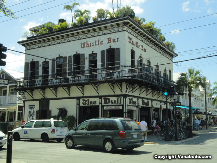 Whistle Bar Key West Florida picture