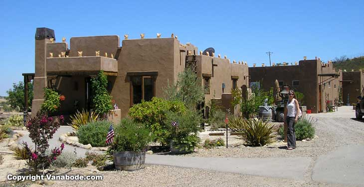 Wild Coyote winery has a sweet adobe style tasting room with a small bed and breakfast inn