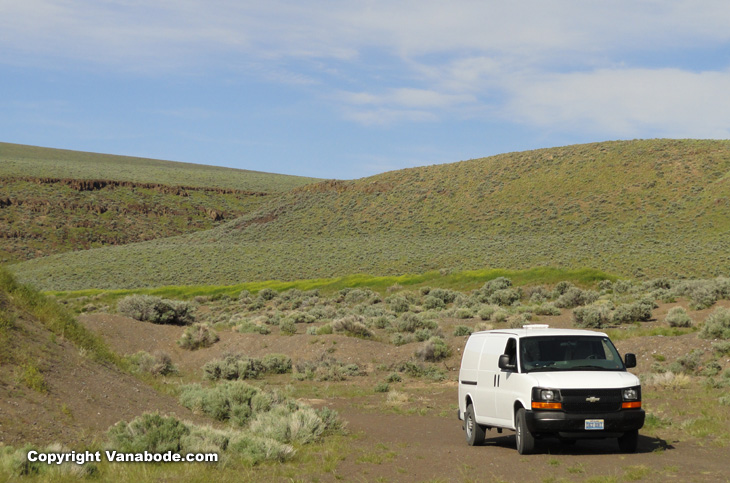 dry camping also called boondocking  is easy around winnemucca nevada