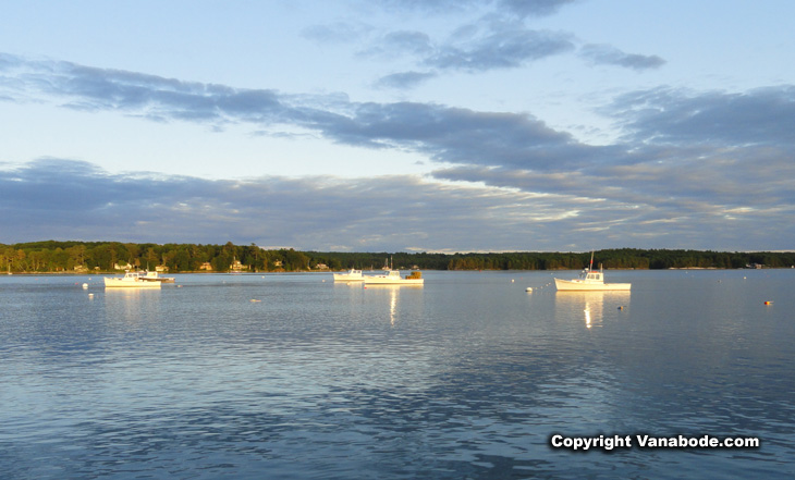 picture of sheepscot river in wiscasset maine