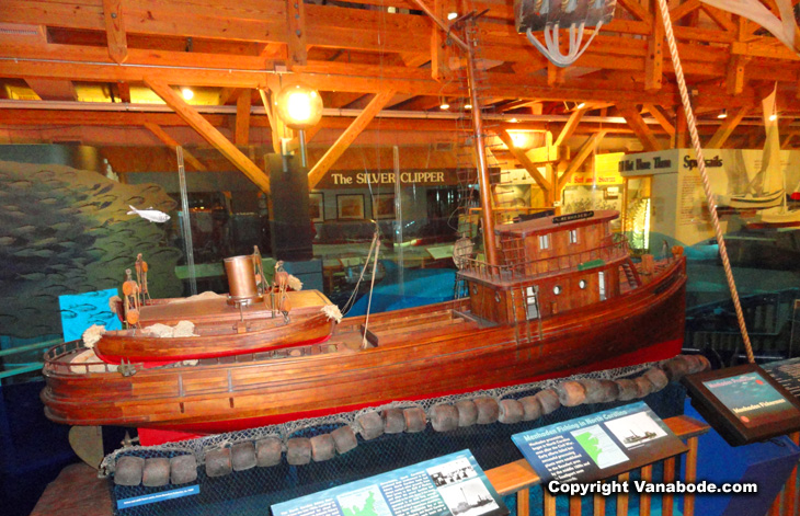 restored recreated wooden ship to scale